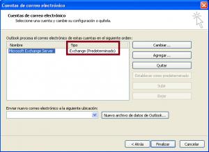 Outlook2003-es exchange